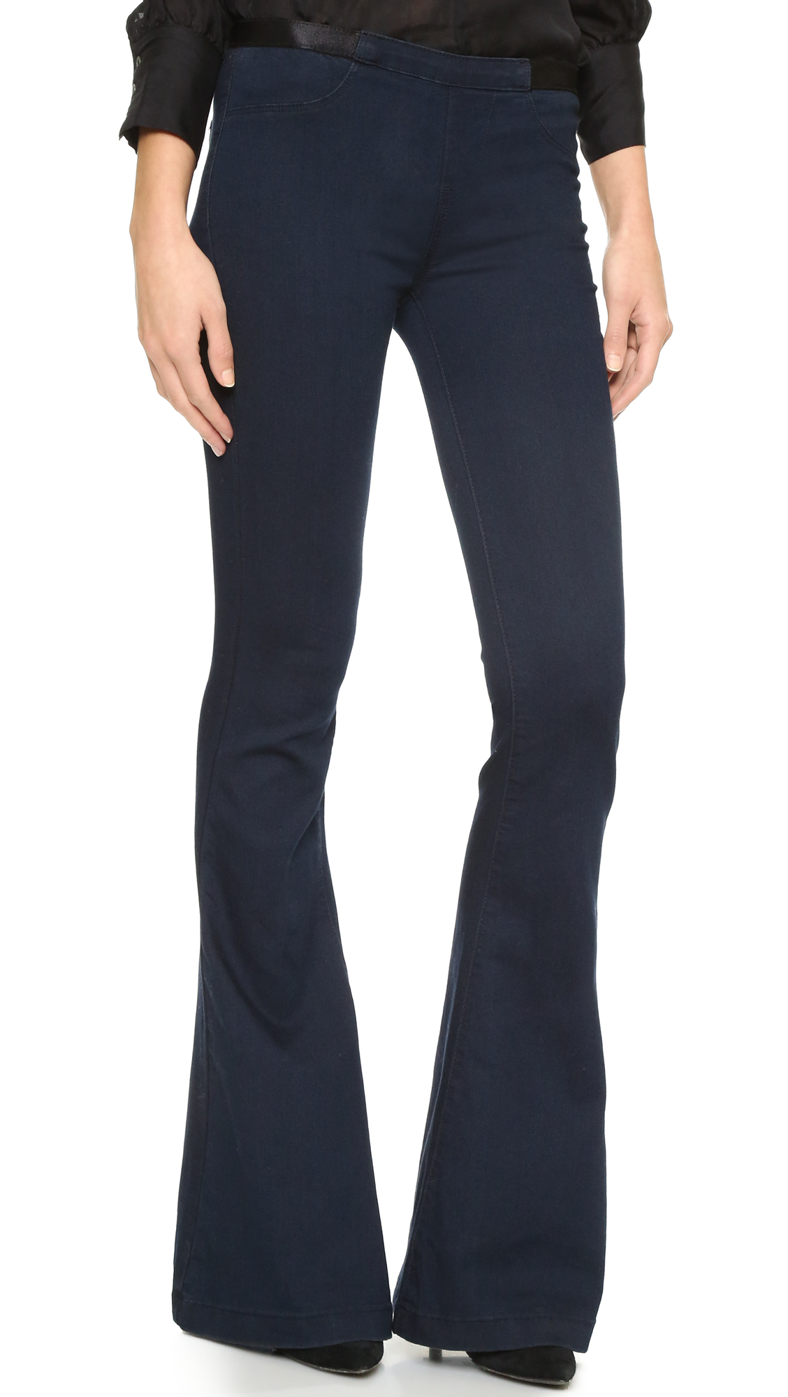 Blank Denim Pull On Flare Jeans | 15% off first app purchase with ...