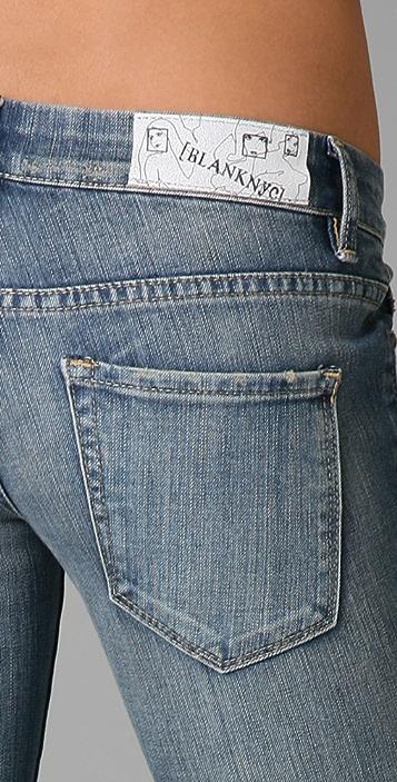 Blank Denim Relaxed Straight Leg Jeans