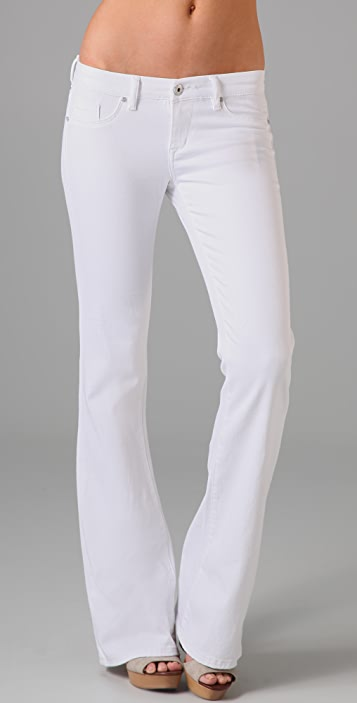 Blank Denim White Bell Bottom Jeans
