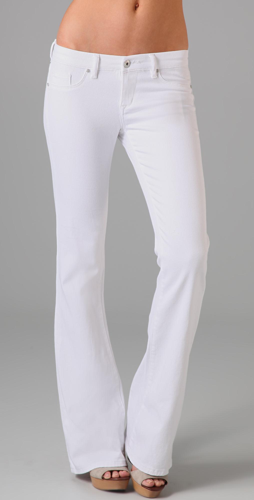 Blank Denim White Bell Bottom Jeans | 15% off first app purchase ...
