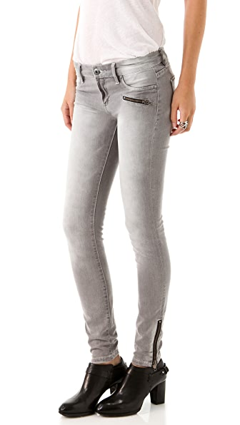 Blank Denim Fizzy Lizzy Ankle Zipper Jeans