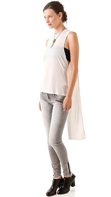 Blank Denim Fizzy Lizzy Ankle Zipper Jeans