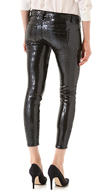 Blank Denim Sequined Skinny Pants