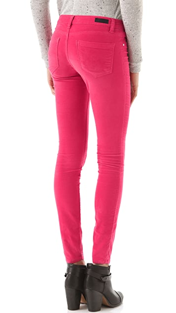 Blank Denim Velveteen Skinny Pants
