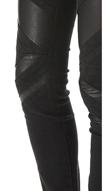 Blank Denim Multi Seam Skinny Jeans