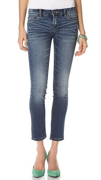 Blank Denim Distressed Cigarette Skinny Jeans