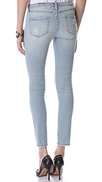 Blank Denim Distressed Skinny Jeans
