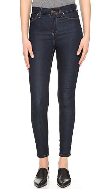 Blank Denim High Rise Skinny Jeans