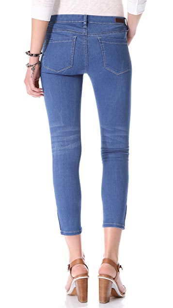 Blank Denim Nerve Agent Capri Jeans