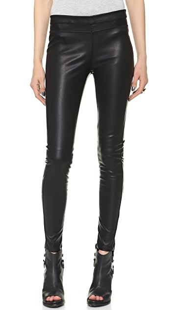 Blank Denim Vegan Pull On Leggings