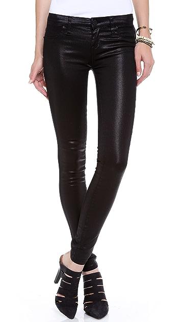 Blank Denim Coated Skinny Jeans
