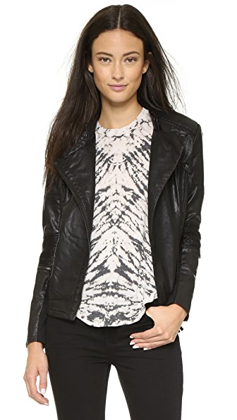 Blank Denim Vegan Moto Jacket