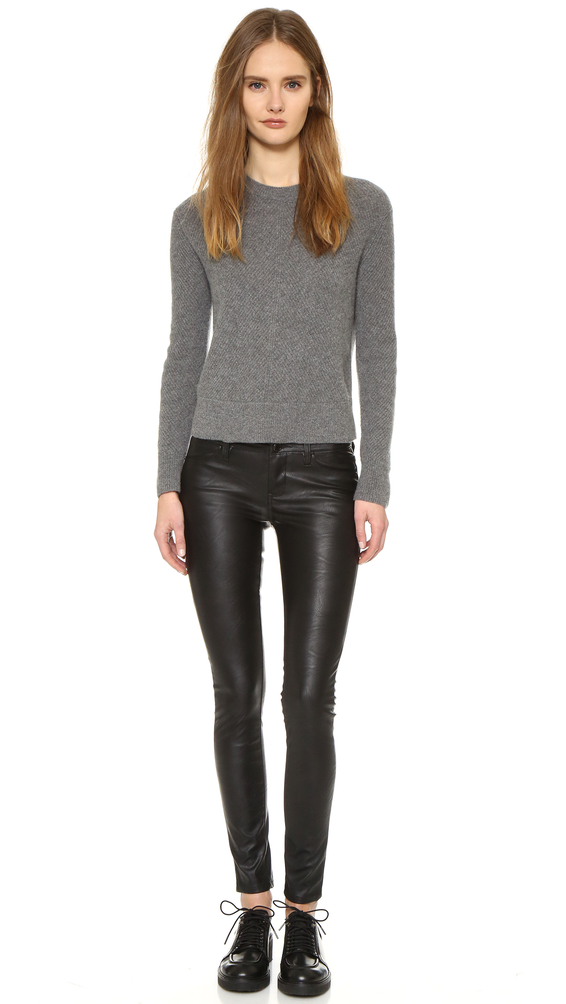 Blank Denim Vegan Leather Skinny Pants  SHOPBOP