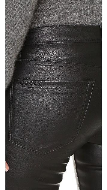 Blank Denim Vegan Leather Skinny Pants