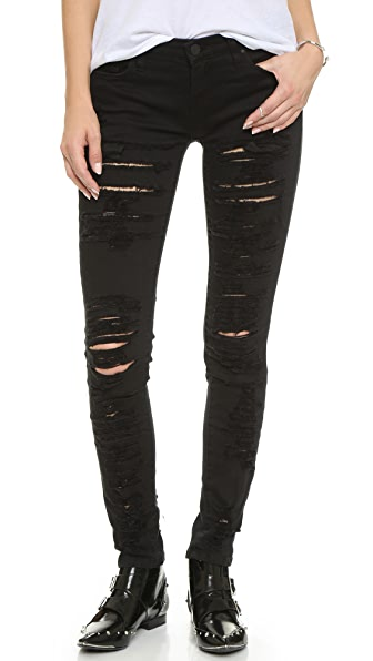 Blank Denim Ripped Skinny Jeans | SHOPBOP