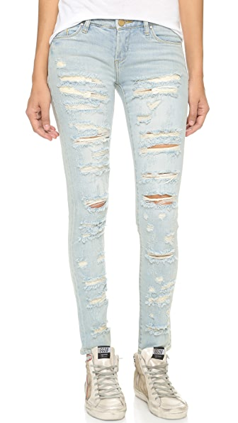 Blank Denim Distressed Skinny Jeans | SHOPBOP