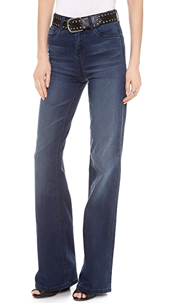 Blank Denim High Rise Bell Bottoms
