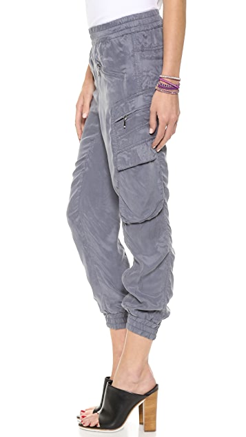 Blank Denim Cargo Track Pants