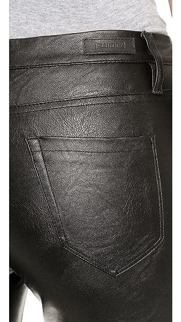 Blank Denim High Rise Vegan Leather Skinny Pants