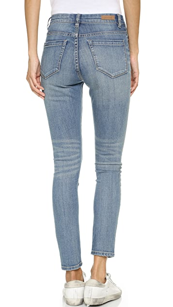 Blank Denim High Rise Ankle Skinny Jeans