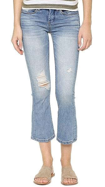 Blank Denim Укороченные расклешенные джинсы Micro