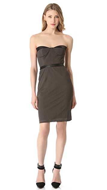 Blaque Label Strapless Fitted Dress