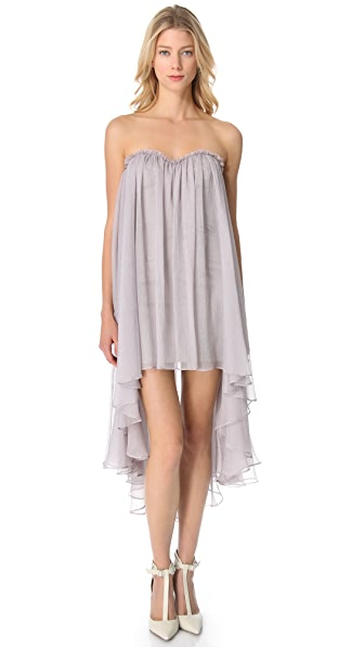 Blaque Label Chiffon Sweetheart Dress