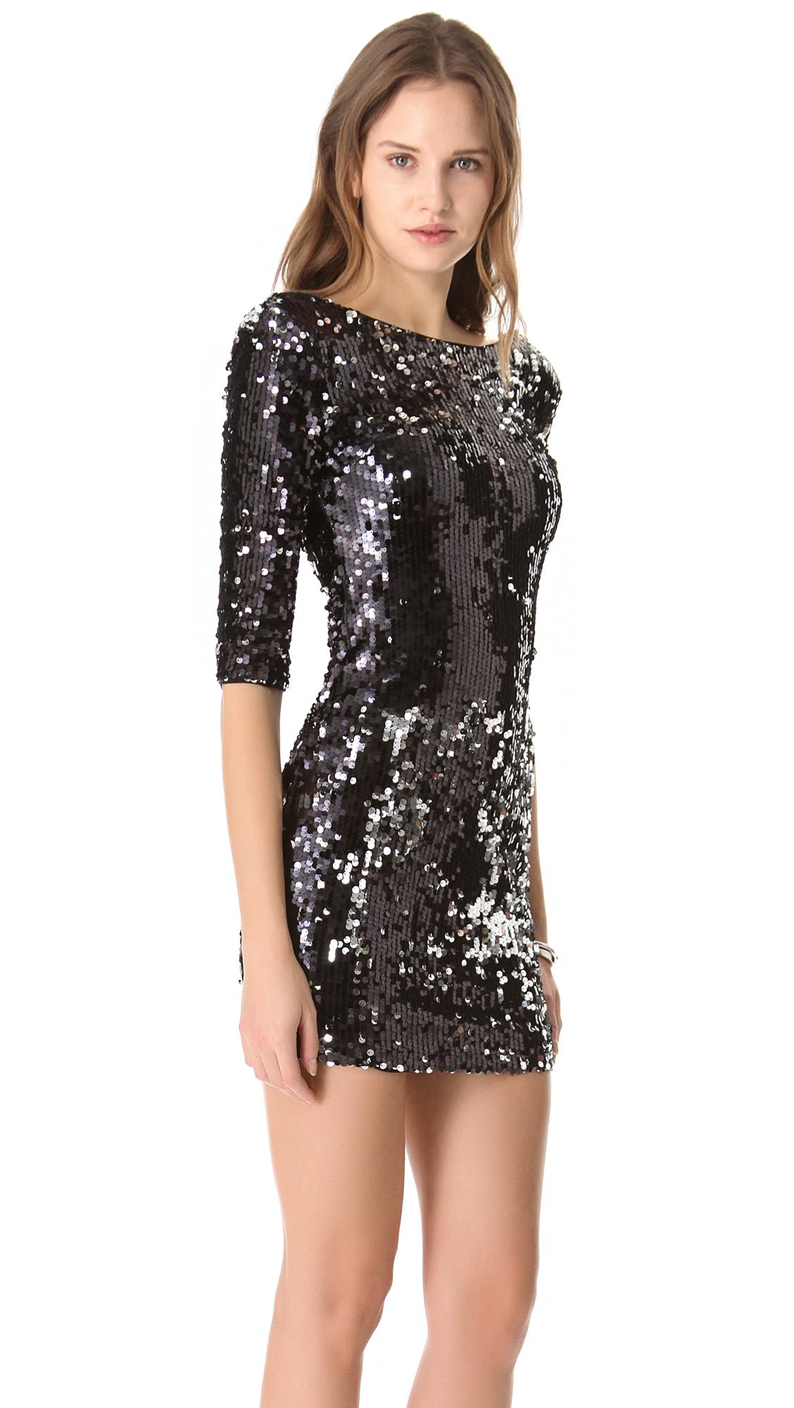 13fe288a0a7 Blaque Label Scoop Back Sequin Dress