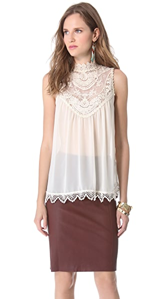 Blaque Label Sleeveless Top