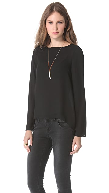 Blaque Label Tie Back Top