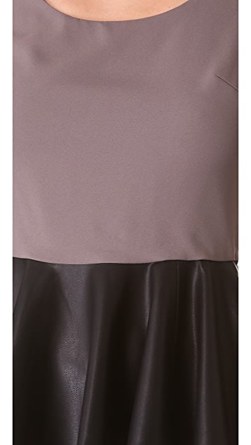 Blaque Label Sleeveless Peplum Top