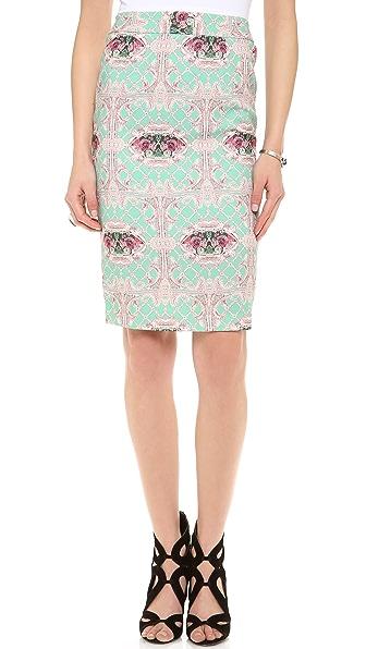 Blaque Label Printed Skirt