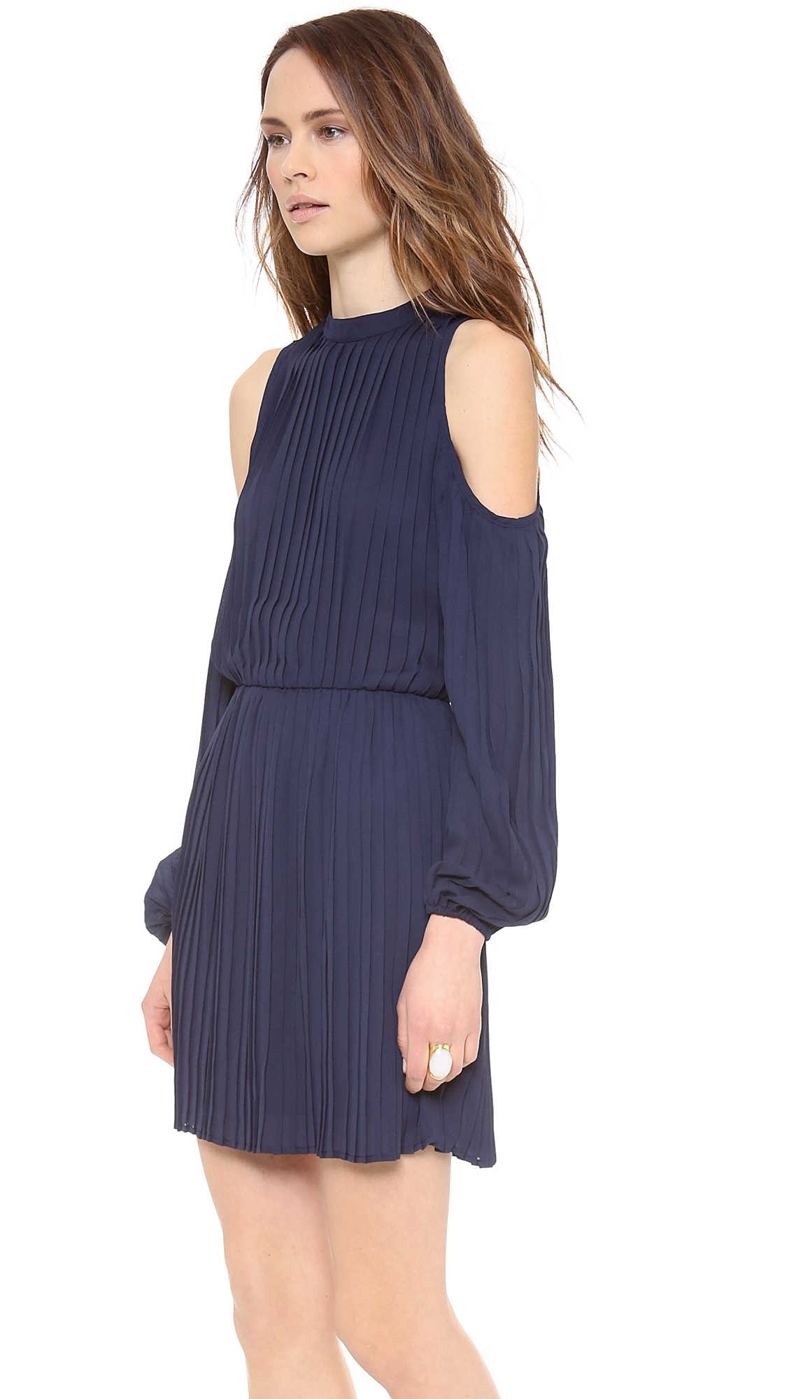 23d3d3c88d6097 Blaque Label Long Sleeve Open Shoulder Dress