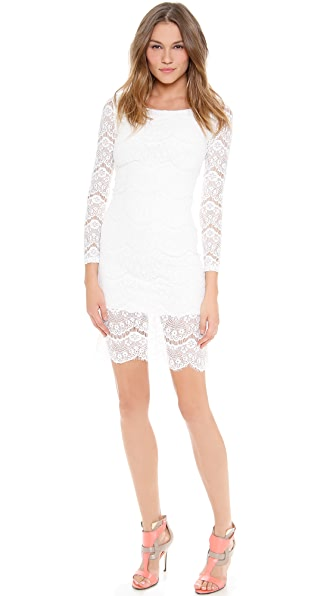 Blaque Label Long Sleeve Lace Dress