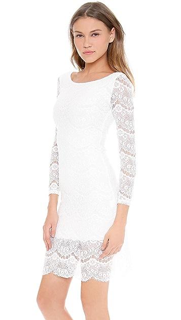 Blaque Label Long Sleeve Lace Dress