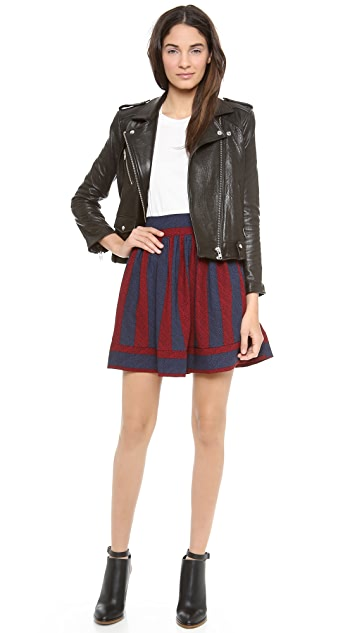 Blaque Label Two Tone Skirt