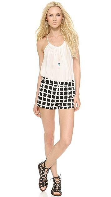 Blaque Label Checkered Shorts
