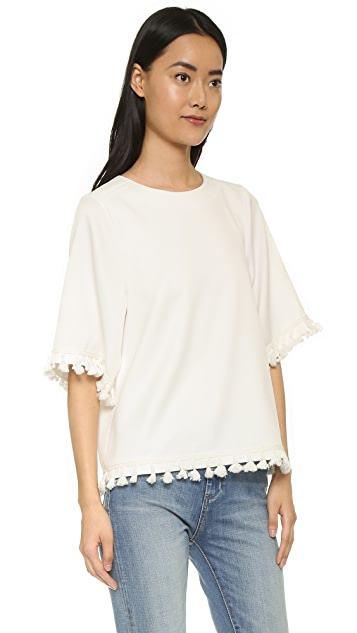 Blaque Label Top with Tassels