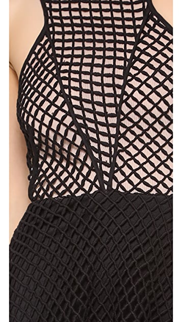 Bless'ed are the Meek Gridlocked Dress