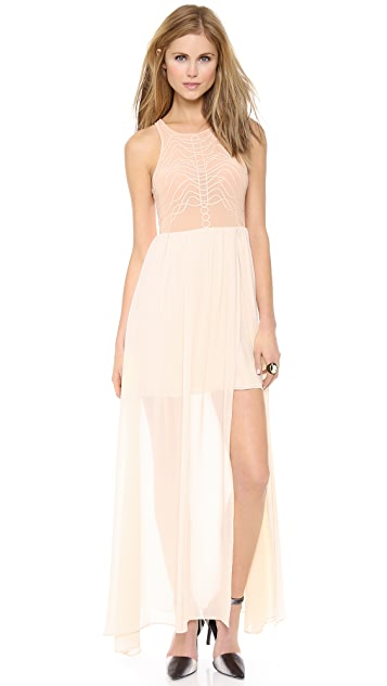 Bless'ed are the Meek Terrace Maxi Dress