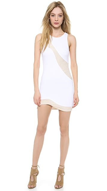 Bless'ed are the Meek Splice Dress