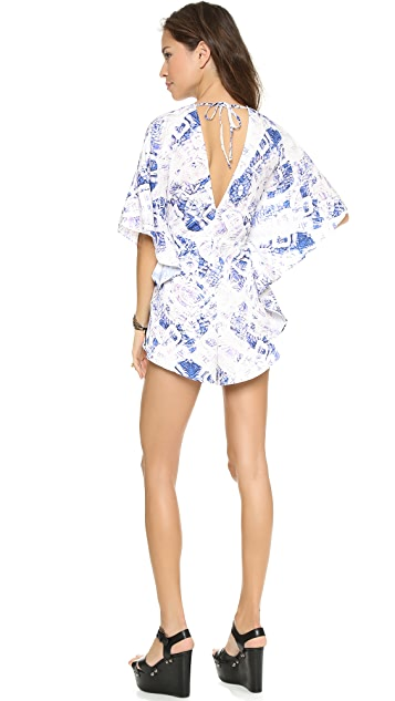 Bless'ed are the Meek Poison Romper