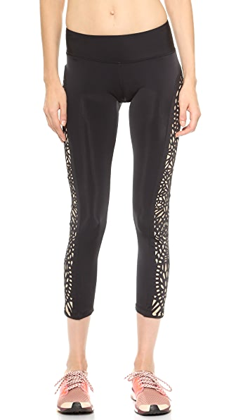 Blue Life Fit Lasercut Leggings | SHOPBOP