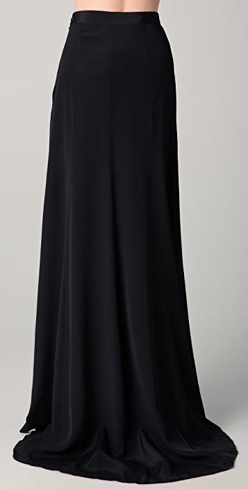 BLK DNM Fishtail Maxi Skirt