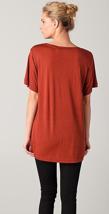 BLK DNM Scoop Neck T-Shirt