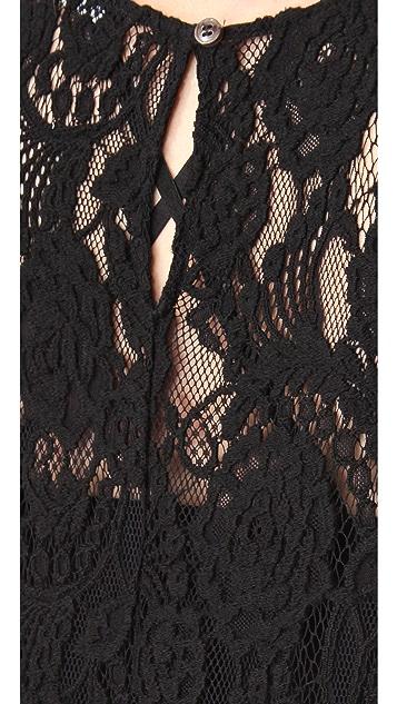 BLK DNM Lace Maxi Dress