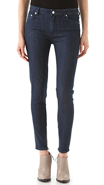 BLK DNM Skinny Jeans 8 with High Waist