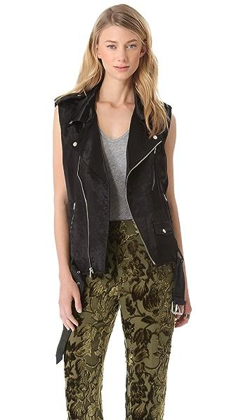 BLK DNM Motorcycle Vest