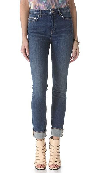 BLK DNM Slim Straight Leg Jeans