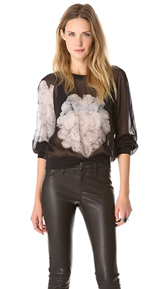 BLK DNM Silk Sweatshirt